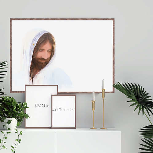 Jesus Christ Fine Art Printable - Christ Art - LDS Art - Come Follow Me