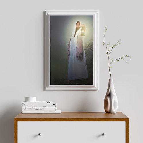 Jesus Christ Fine Art Printable - The Word of God -LDS Art