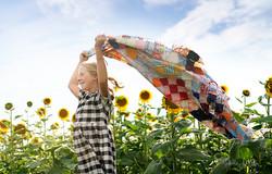 Haley Miller sunflower field 1