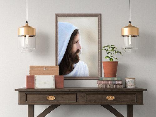 Jesus Christ Fine Art Printable - LDS Art - Instant download - Jesus Wept