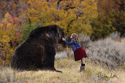 layla and her papa bear web