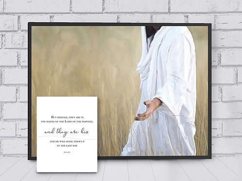 Jesus Christ Fine Art Printable - Instant Download - LDS Art - The Gatherer