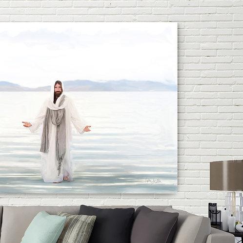 Jesus Christ Fine Art Printable - Christ Art - LDS Art - Resurrected