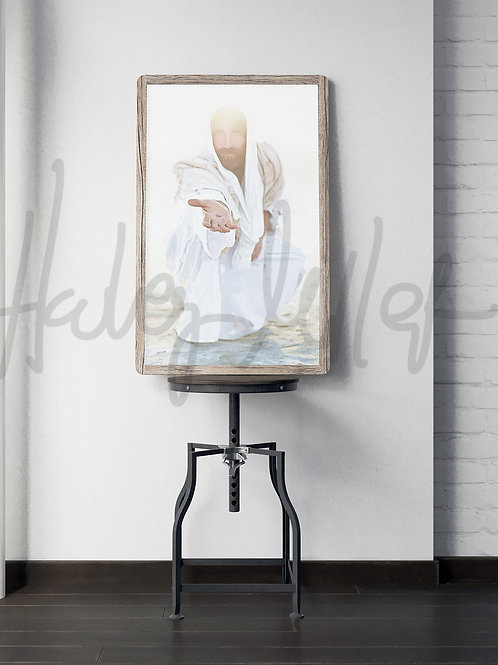 Jesus Christ - Fine Art - Printable - Instant Download - Rescuer
