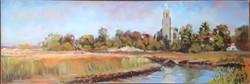 Blythburgh Church from Bulcamp Marsh