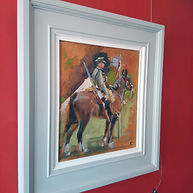 Castle House Rider study hung.jpg