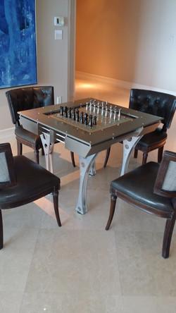 Custom Multi-featured Game Table