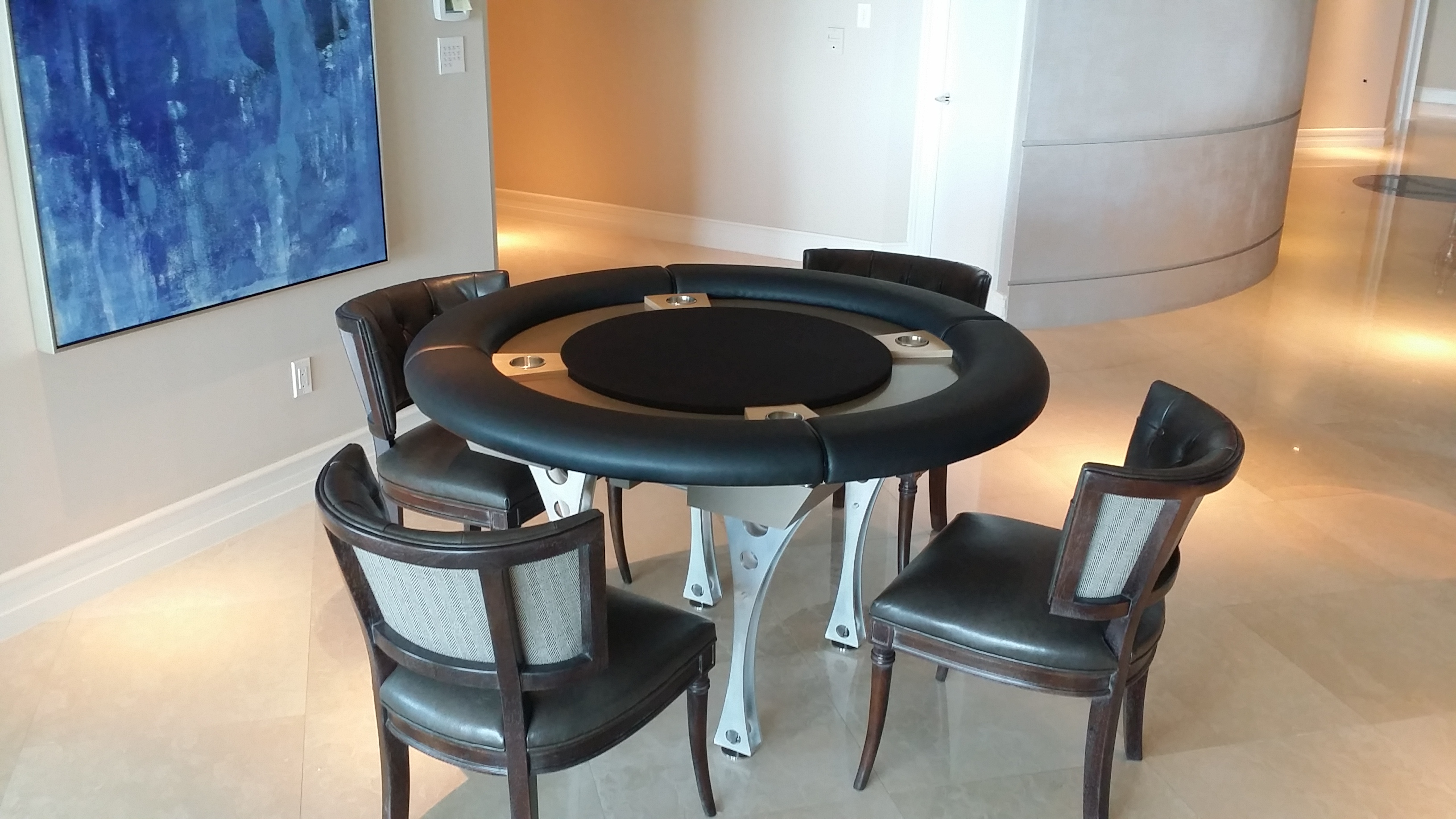 Custom Multi-featured Game Table