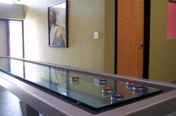 Custom Glass Shuffleboard