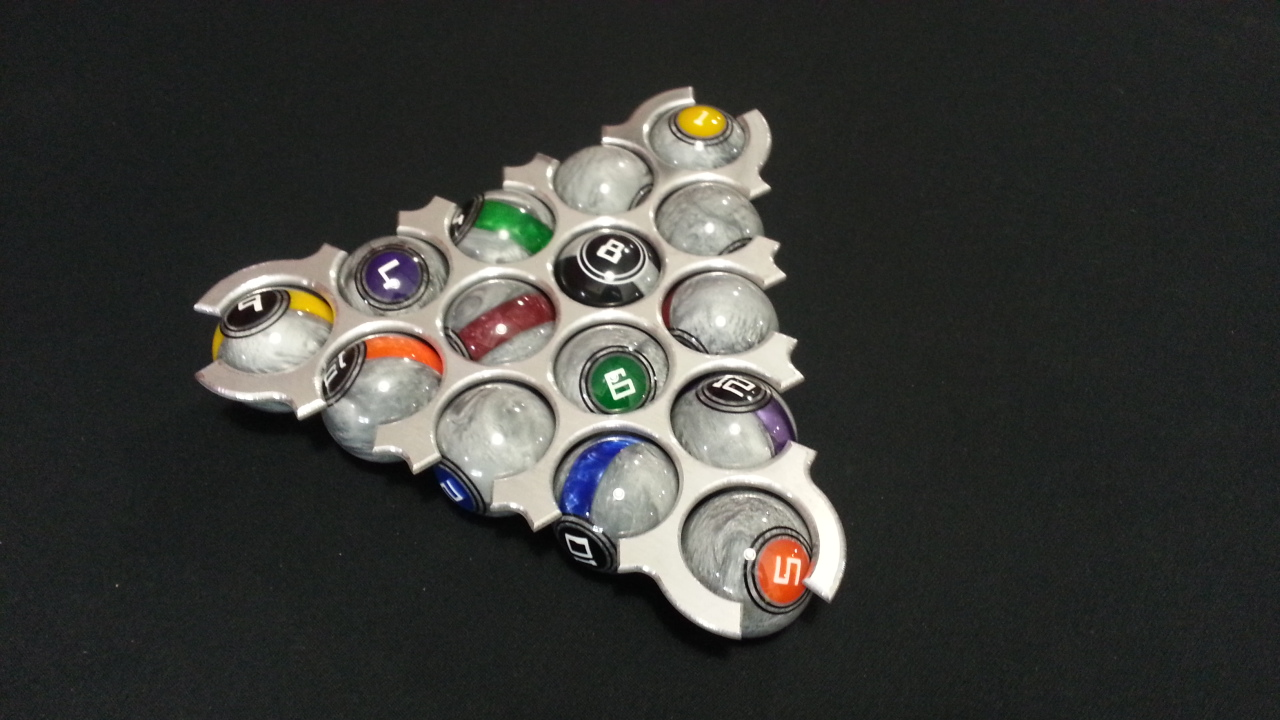 Shredder 8 Ball Rack