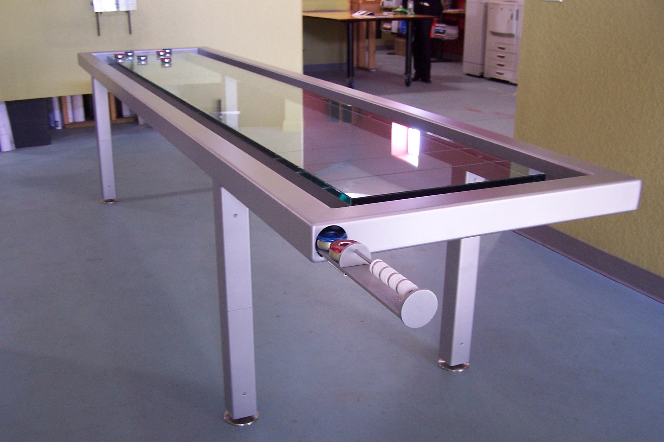Glass Shuffleboard