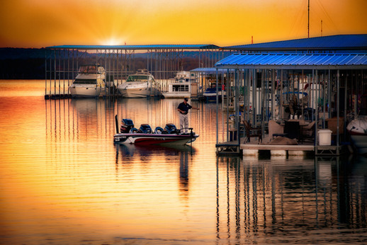 Lake & Boat Sundown.jpg