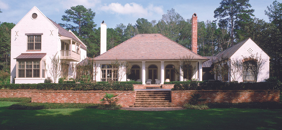 Colonial French Style/ The Bespoke House by TDS