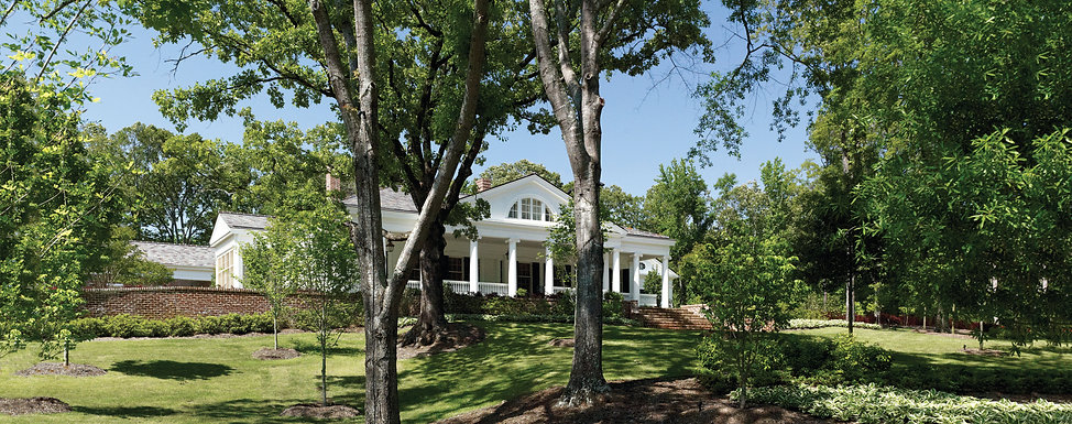 Country Greek Revival Style/ The Bespoke House by TDS