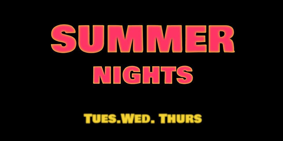Summer Nights Training Sessions