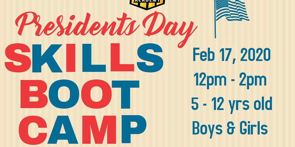 Feb 17 2020 Presidents Day 2020 Skills Boot Camp