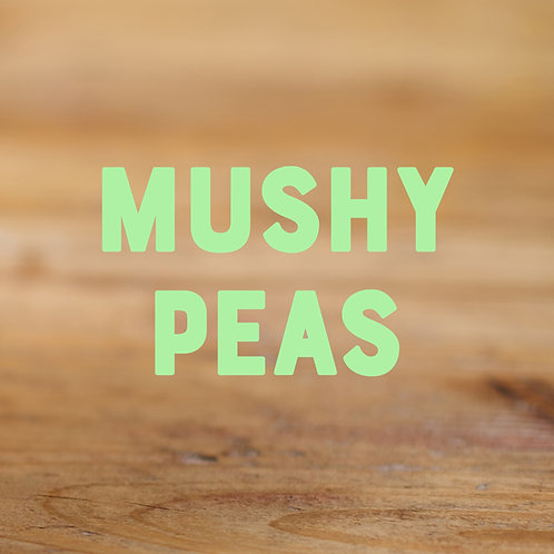 Mushy Peas (2-3 Portionen)