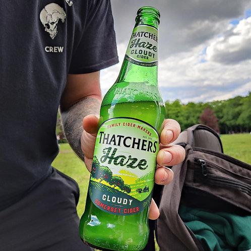Thatchers Haze Cider / Cloudy & Sweet