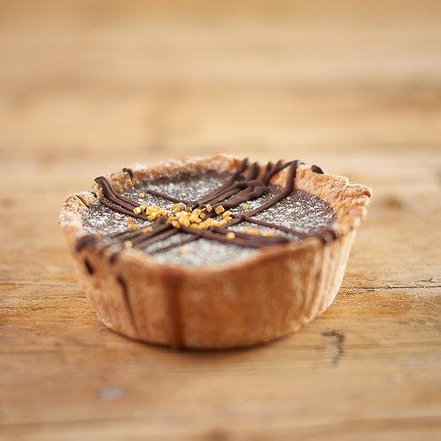 Vegan Millionaires Shortbread Pie