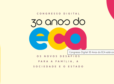 Congresso digital '30 anos do ECA' - CNJ