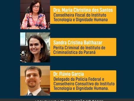 LIVE: Direito e segurança, na perspectiva das tecnologias digitais na infância e na adolescência.