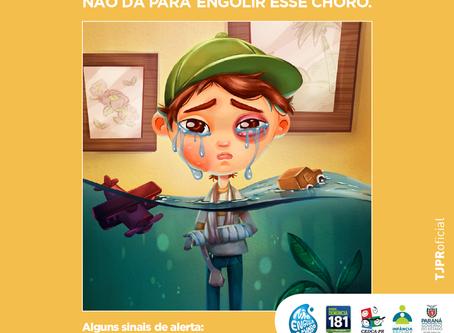 TJPR no combate ao abuso e exploração sexual de crianças e adolescentes.