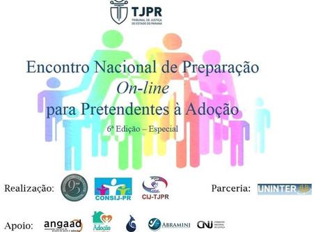 Encontro Nacional de Preparação on-line para Pretendentes à Adoção!