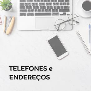 TELEFONES e ENDEREÇOS de órgãos do sistema de garantia de direitos da criança e do adolescente