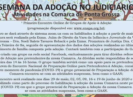II Semana de Adoção no Judiciário