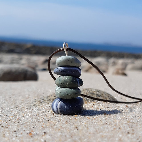 Pebble Stack Pendant