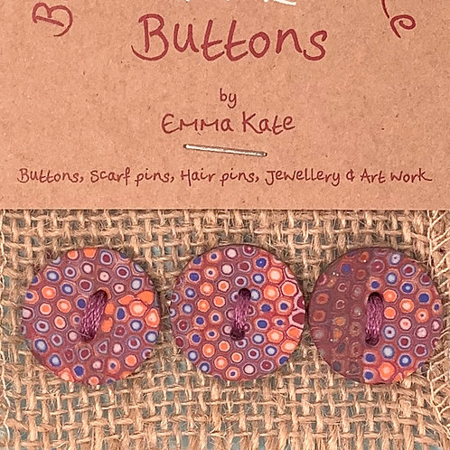 3 buttons Approx. 20mm