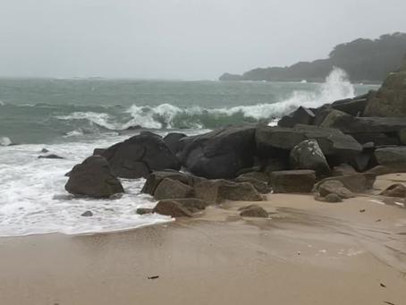 Porthcressa Beach Jan 2021