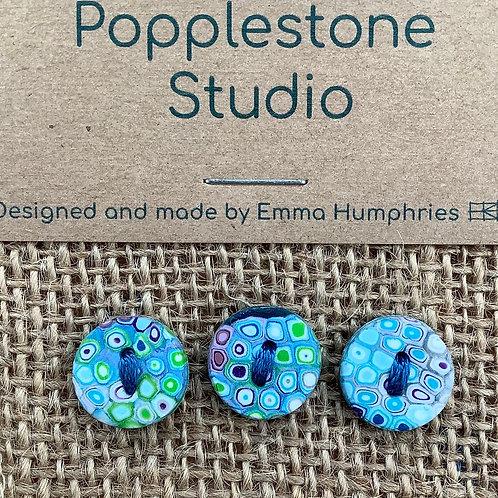 3 button Approx 11mm diameter