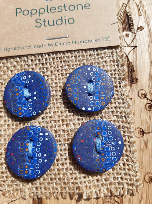 4 button Approx 16mm diameter