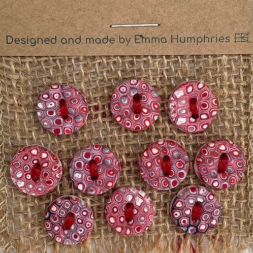 12 button Approx 12mm diameter