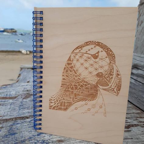 Zentangle Puffin Notebook.jpg