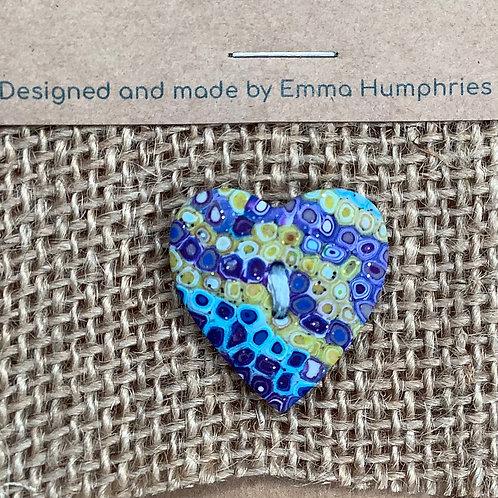 heart buttons Approx. 25mm