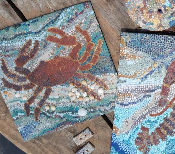 crab & shell