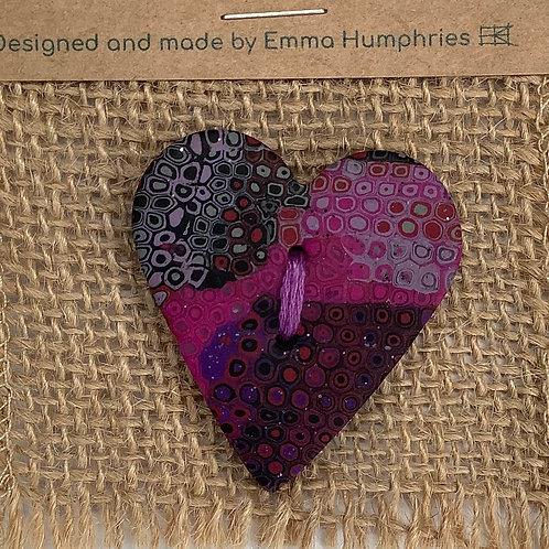 heart buttons Approx. 40mm