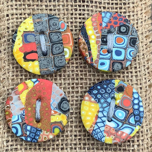 4 buttons Approx. 30mm