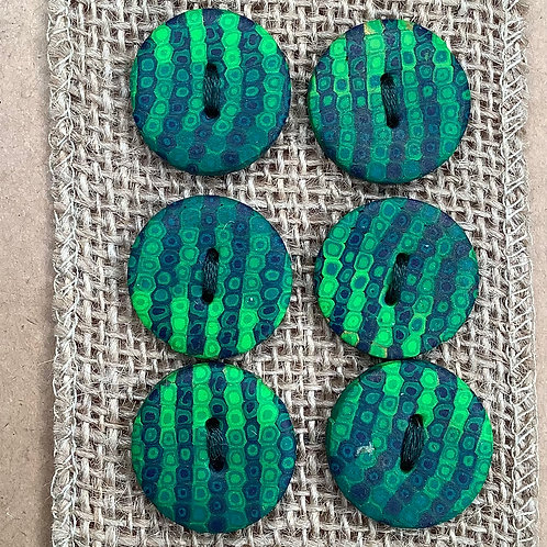 6 buttons Approx. 24mm