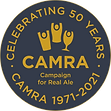 CAMRA 50th Logo - Gold on Slate Grey RGB