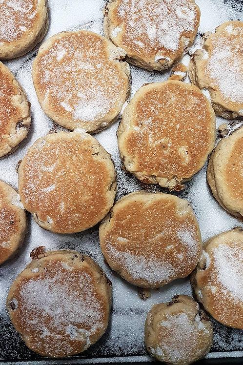 Homemade Fruit Welsh Cakes
