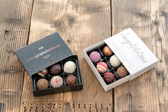 6 Handmade Luxury Welsh Chocolates