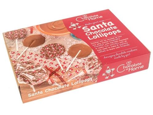 Santa Chocolate Lollipop Kit