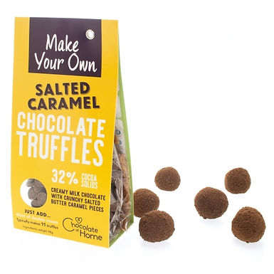 Make Your Own Salted Caramel Truffles