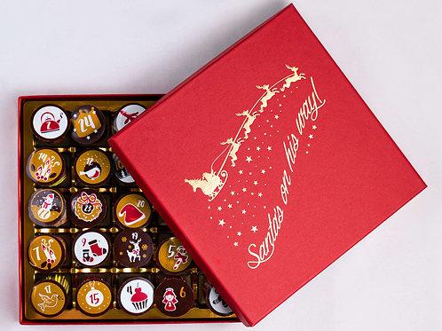Advent Calendar in a Luxury Christmas box