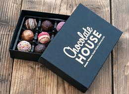12 Handmade Luxury Welsh Chocolates