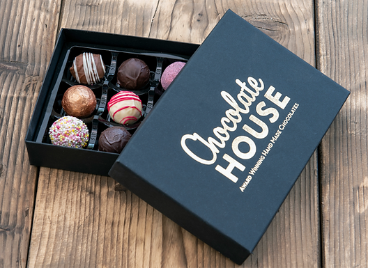 12 Handmade Luxury Welsh Chocolates