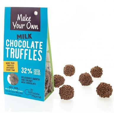 Make Your Own Milk Chocolate Truffles